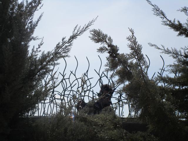 نرده شاخ گوزنی