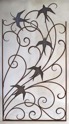 حفاظ پنجره با طرح پرنده